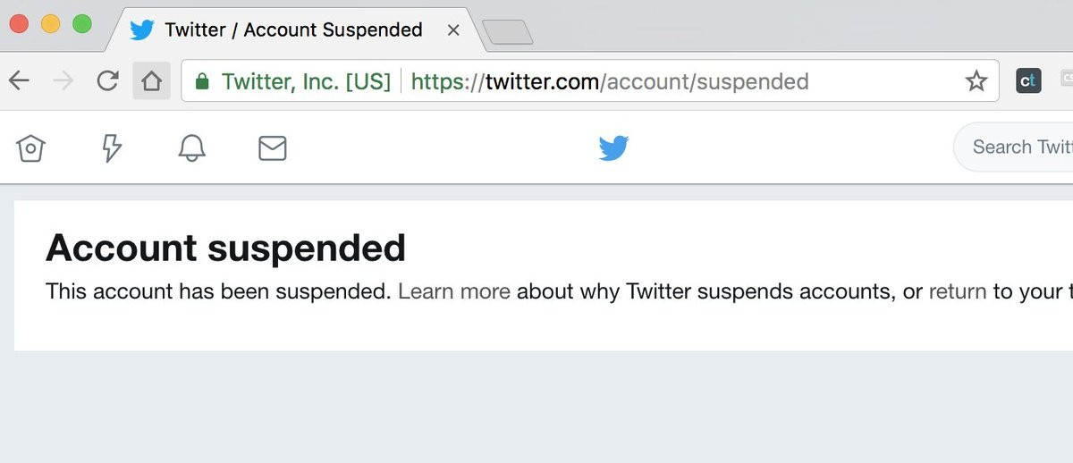 Appeal an account suspension or locked account