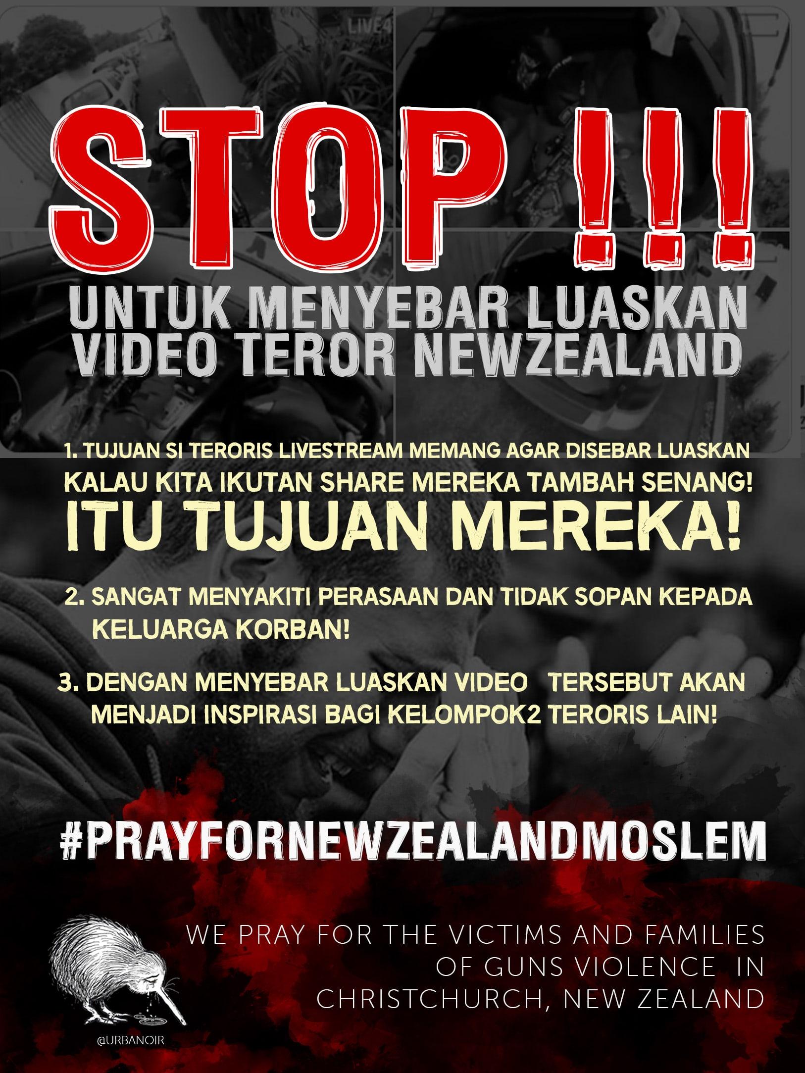 #PrayForNewZealandMoslem-