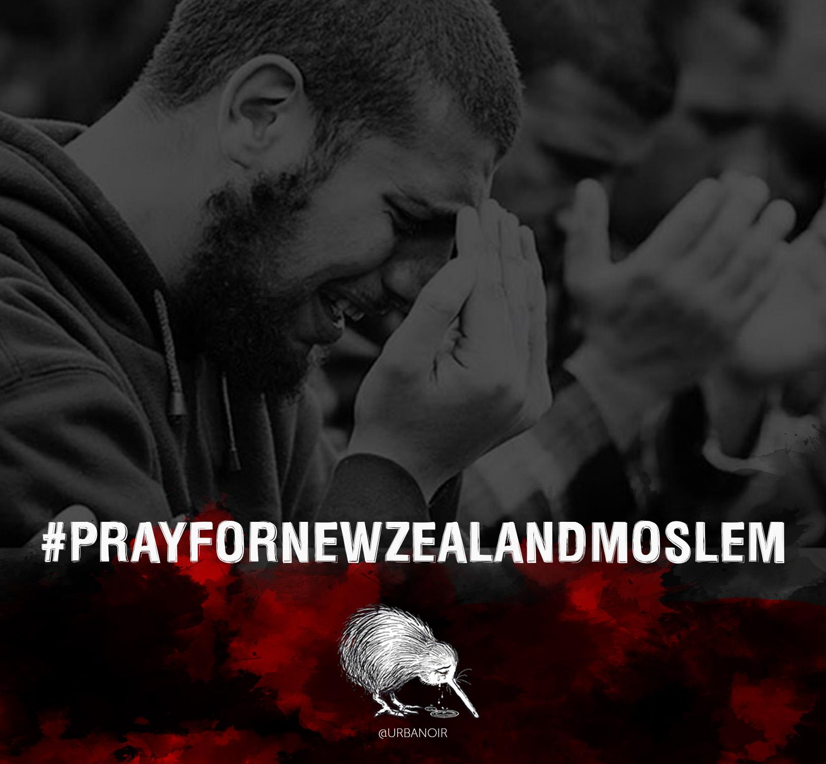 #PrayForNewZealandMoslem